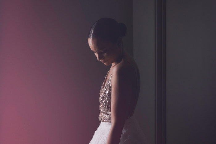 gold sequin elegant modern bride one day bridal